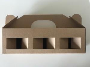 Dėžutė 265x85x80 (užtepėlėms, paštetams, humusams, džemams 300, 330 g, uogienėms 300, 330 g, glazūroms)