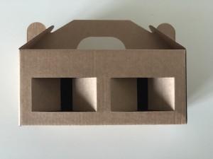 Dėžutė 180x85x80 (užtepėlėms, paštetams, humusams, džemams 300,330 g, uogienėms 300, 330 g, glazūroms)