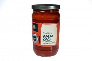 Pomidorų padažas su eritritolio ir stevia saldikliais