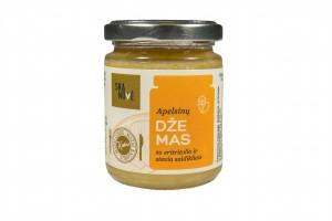 Apelsinų džemas su eritritolio ir stevia saldikliais, 160 g