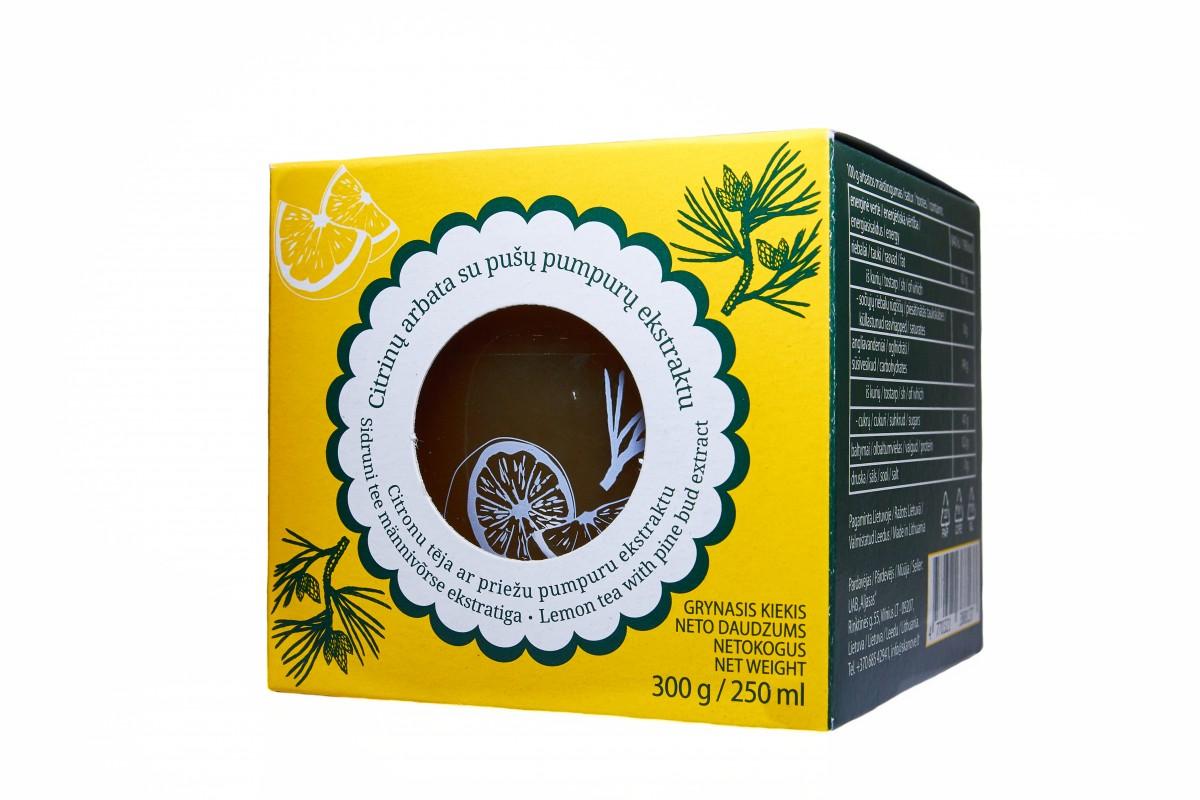 Citrinų arbata su pušų pumpurais, 300g