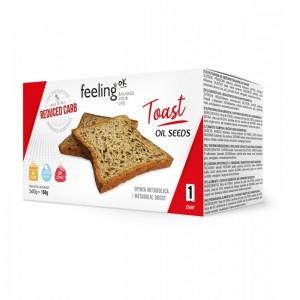 KETO TOAST duonelė su sezamu