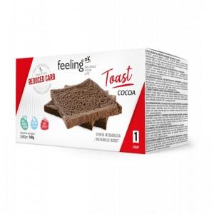 KETO šokoladinė skrudinta duona su riešutais