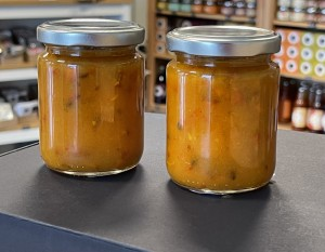 Šaltalankių džemas su eritritolio ir stevia saldikliais