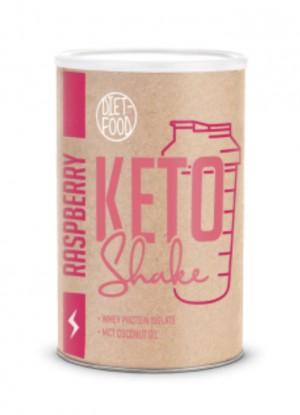 KETO SHAKE Rasberry  -Aviečių kokteilis