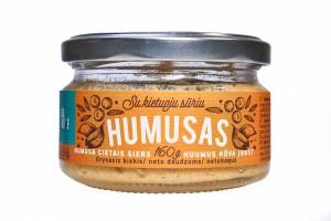 Hummus with hard cheese, 160g