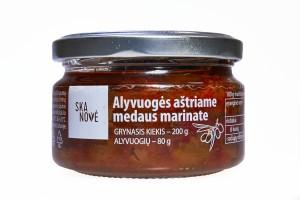 Alyvuogės aštriame medaus marinate, 200g